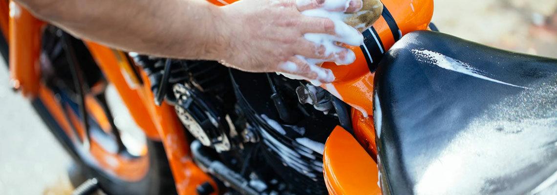 Nettoyage de motos